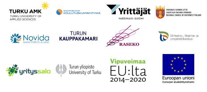 Varsinais-Suomen Ennakointiakatemian yhteistyökumppanit:
