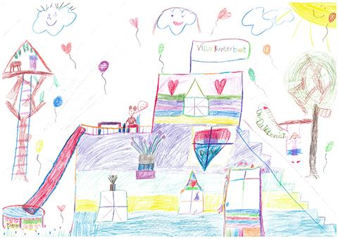 """Bild 3 - """"Villa Kunterbunt"""""""