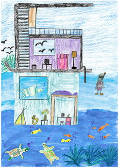 """Bild 5 - """"Mein Unterwasser-Traumhaus"""""""