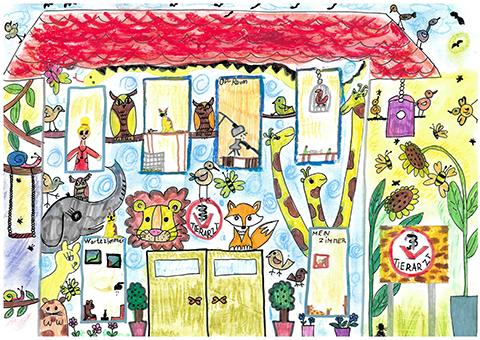 """Bild 6 - """"Mein tierisches Traumhaus"""""""