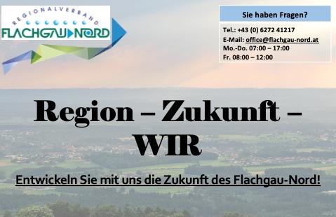 Wir möchten Ihre Meinung zur Region Flachgau-Nord erfahren!