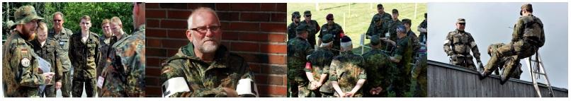 AUSBILDER/IN bei der Ausbildung zum SOLDAT der RESERVE