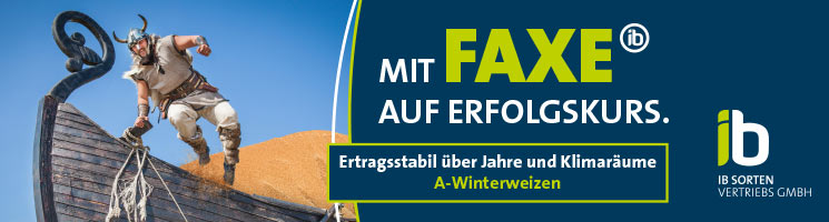 Mit FAXE auf Erfolgskurs: Ertragsstabil über Jahre und Klimaräume! (A-Winterweizen)