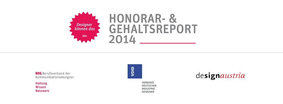 Honorar- & Gehaltsreport 2014
