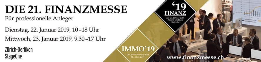 FINANZ'19 / IMMO'19: online Ticketing