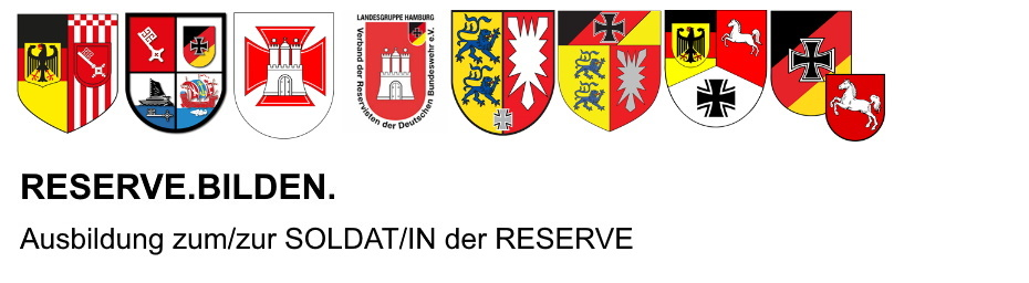 Interesse an der Ausbildung zum SOLDAT der RESERVE
