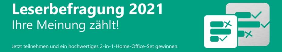 Leserbefragung pharmind 2021 - Ihre Meinung zählt