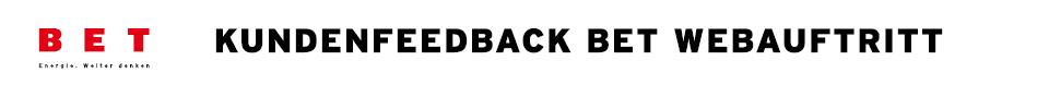 Kundenfeedback Website