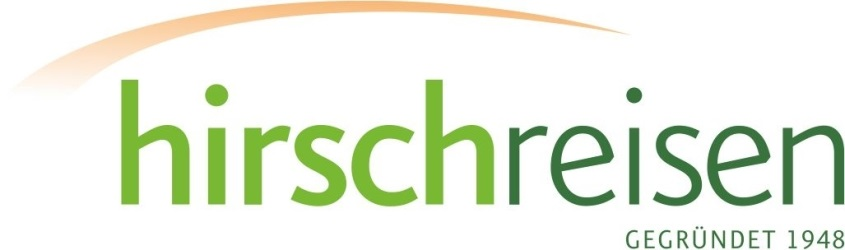 Hirsch-Reise-Tag 2020