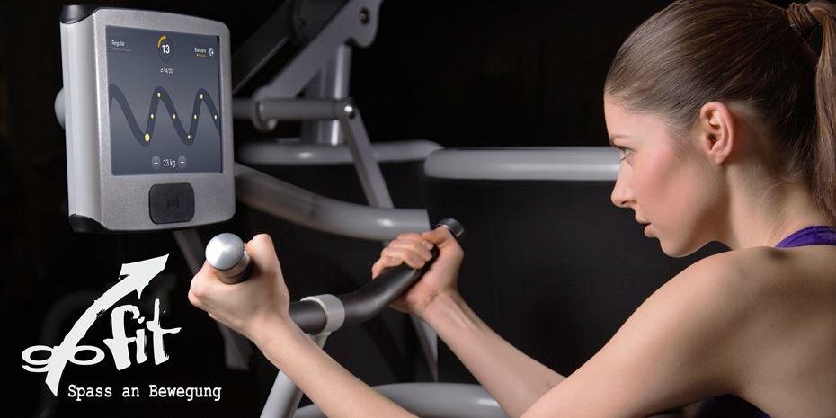 gofit Fitness-Umfrage ausfüllen und 5 Tage gratis trainieren.