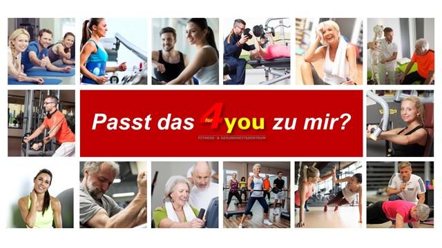 Passt 4you Fitness-& Gesundheitszentrum Warendorf zu mir?