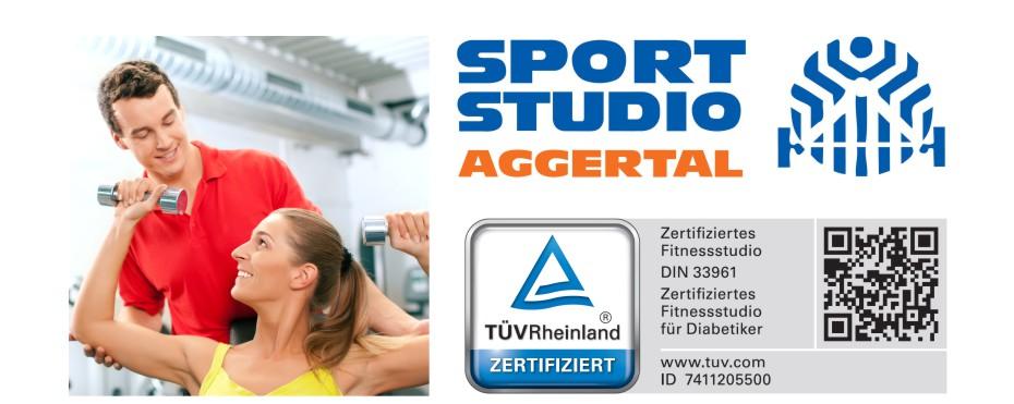 Passt das Sport-Studio Aggertal zu mir?  Ihr Fitnessstudio mit dem TÜV-Qualitätssiegel.
