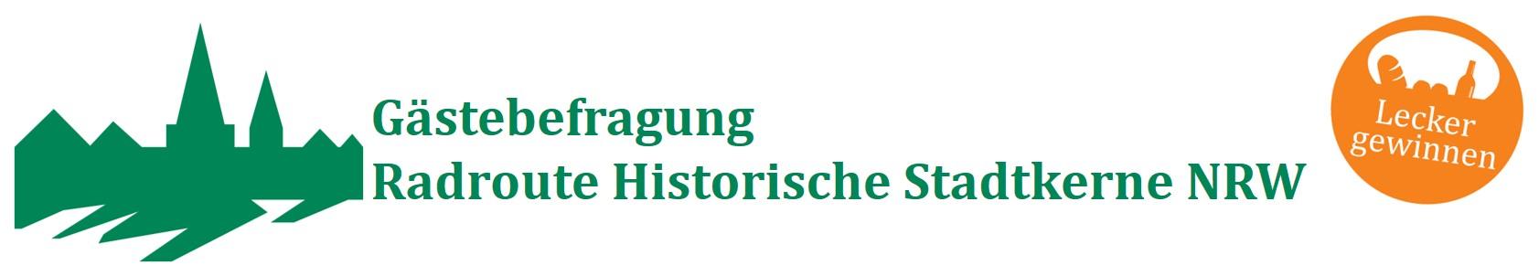 Radroute Historische Stadtkerne NRW